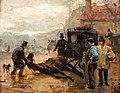 Aleksander Gierymski - Scena uliczna w Paryżu.jpg