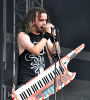 Alestorm, Christopher Bowes at Wacken Open Air 2013 05.jpg