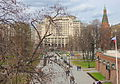 Alexandrovsky Garden - Upper Garden, view from Troitsky bridge (2015) by shakko 02.jpg