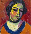 Alexei von Jawlensky - Portrait of a Woman - Google Art Project.jpg