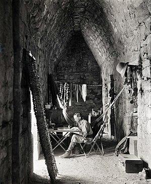 Alfred Maudslay - Alfred Percival Maudslay, interior of southern chamber, Casa de Monjas at Chichen Itza, 1889
