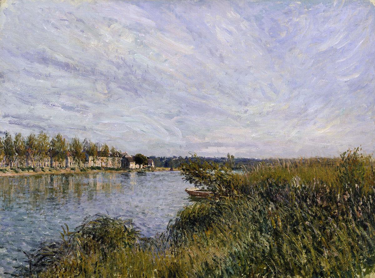 Alfred Sisley - View of Saint-Mammes - Walters 37355.jpg