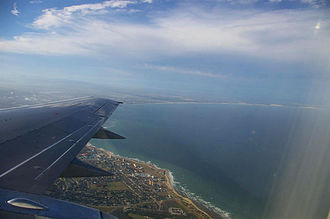 Algoa Bay - Algoa Bay with Port Elizabeth in the foreground