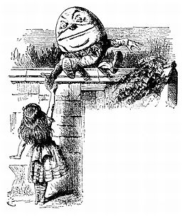 Alice Humpty Dumpty