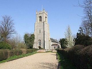 Alburgh farm village in the United Kingdom