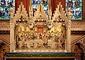All Saints Church, Bracknell Road, Ascot, Berks - Reredos of the Last Supper - geograph.org.uk - 898509.jpg