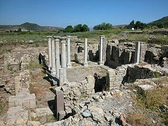 Allianoi - The remains of Allianoi