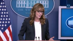 File:Allison Janney at the White House Press Briefing.webm