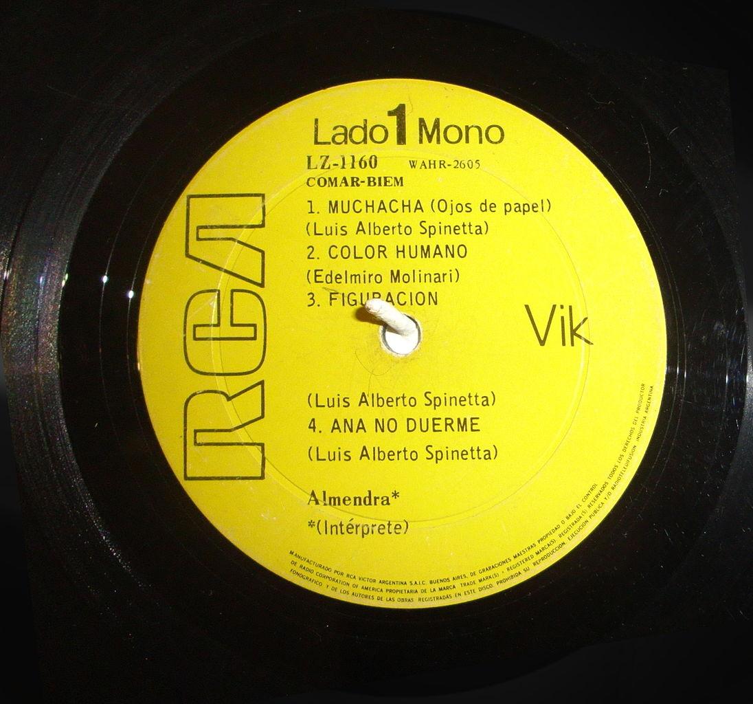 File Almendra 1969 1st Album By Almendra Long Play