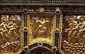 Altare di s. ambrogio, 824-859 ca., fronte dei maestri delle redentore tra apostoli e simboli evangelisti 03.jpg