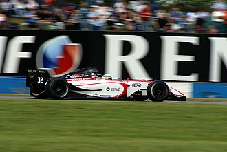 Álvaro Parente - Parente won the 2007 Formula Renault 3.5 Series championship with the Tech 1 Racing team.