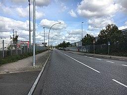 Am Altenwerder Kirchtal in Hamburg