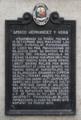 Amado Hernandez y Vera (North Cemetery) NHCP Historical Marker.png