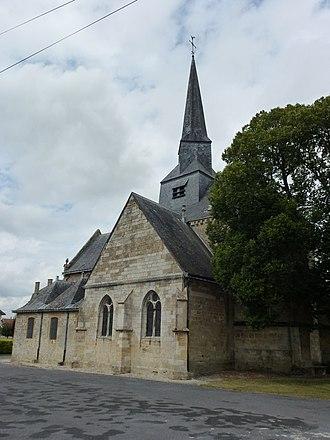 Amagne - Image: Amagne (Ardennes) église, vue angulaire