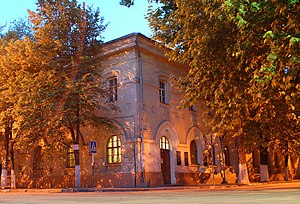 Amalie Adlerberg - Building of the Adlerberg Orphan-asylum in Simferopol