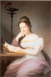 Fürstin Amalie zu Fürstenberg, geb. Prinzessin von Baden, 1819 (Quelle: Wikimedia)