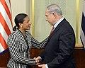 Ambassador Rice Meets With Israeli Prime Minister Netanyahu (14126775661).jpg