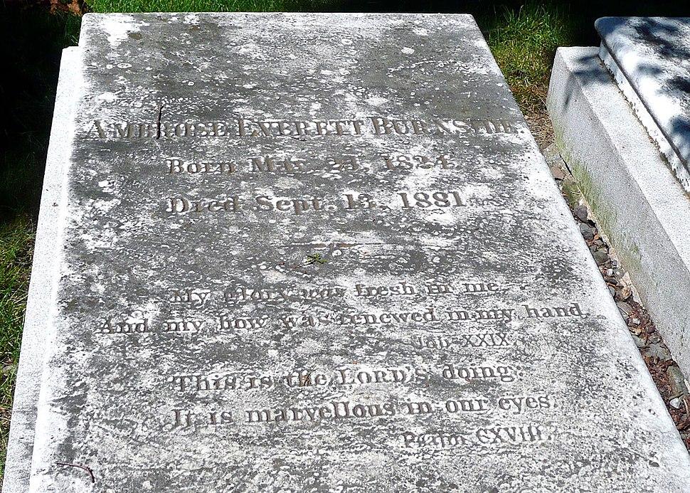 Ambrose E Burnside grave