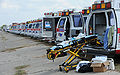 Ambulances readied for Hurricane Ike.jpg