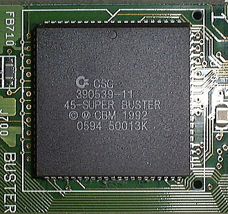 Amiga custom chips - Super Buster in A4000
