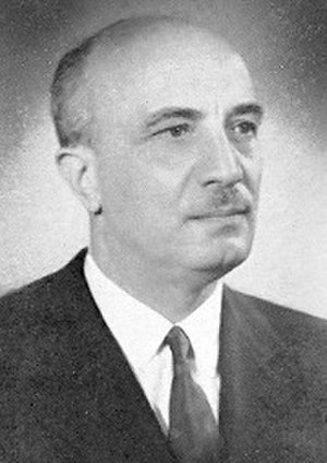 Italian Minister of Labour and Social Policies - Image: Amintore Fanfani daticamera