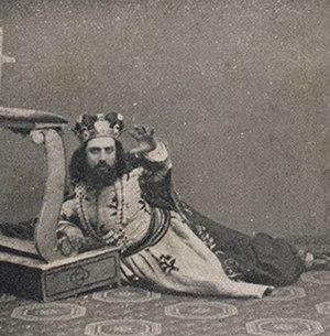 Amleto - Antonio Cotogni as Claudio (1865)