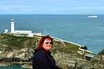 Amy at Southstack Lighthouse - Anglesey 2015 (20039110849).jpg