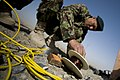 An Afghan National Army soldier takes part in simulated counter improvised explosive device operations March 13, 2012, at Kandahar Airfield, Afghanistan 120313-F-FA171-075.jpg