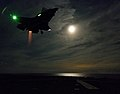 An F-25B Lightning II is tested aboard USS Wasp. (9523460529).jpg