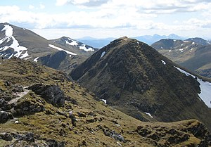 An Stùc - An Stùc from Meall Garbh