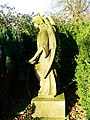 An angel in Kingston Lisle cemetery - geograph.org.uk - 667250.jpg