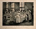 An injection against croup at the Hôpital Trousseau, Paris. Wellcome V0006765.jpg