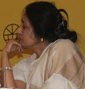 Anamika (poet) - Anamika at SAARC Festival of Literature 2017 in New Delhi