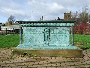 Alexander Wilson (ornithologist) - Image: Anchor Mills Memorial geograph.org.uk 373255