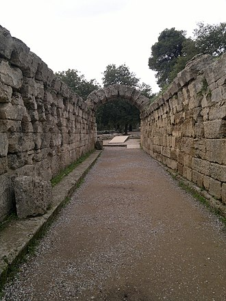 Olympia, Greece - Crypt (arched way to the stadium)