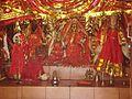Ancient statues of Devi-Devta at Banni Mata Mandir.jpg