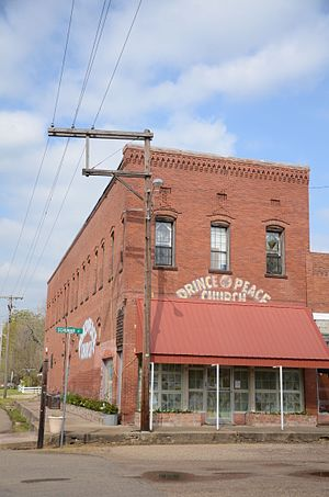 National Register of Historic Places listings in Little River County, Arkansas - Image: Anderson Hobson Mercantile Store