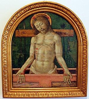 Andrea di Niccolò - Image: Andrea di niccolò, pietà, da duomo di grosseto, 1490 circa