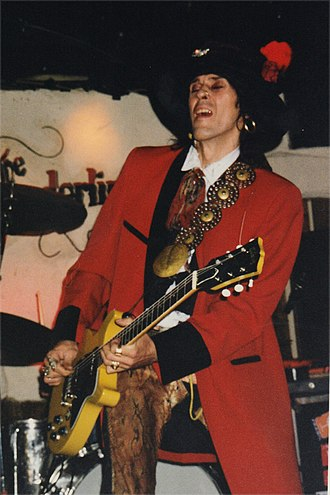 Andy McCoy - McCoy performing at The Borderline in London in September 2000