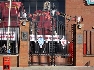 Bob Paisley - Image: Anfield Stadium IMG 2164