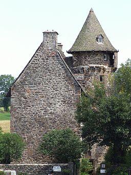 chateau de la tremoliere dans le cantal