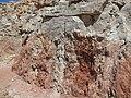 Angular unconformity - Flagstaff Formation over Twist Gulch Formation (Salina Canyon, central Utah, USA) 2 (8292123578).jpg