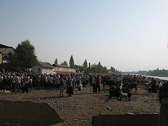 Jalal-Abad Region - Livestock market in Kyzyl-Jar, Jalal-Abad Region