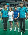 Ankara - BWF World Senior Badminton Championships - WS 70 - Marg def Ann-Louise Wiklund (FIN) 13 & 16 (11078105593).jpg