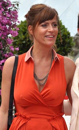 Anne Caillon au Festival de télévision de Monte-Carlo 2013.   Photo : Wikimedia.