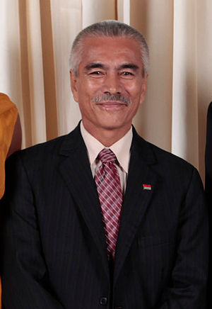 Kiribati presidential election, 2012 - Image: Anote Tong