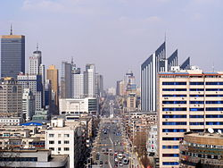 Anshan City Skyline.jpg