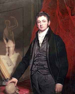 Anthony Carlisle - Anthony Carlisle by Henry Bone (1827)