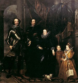 1627 in art - van Dyck – The Lomellini Family, Scottish National Gallery