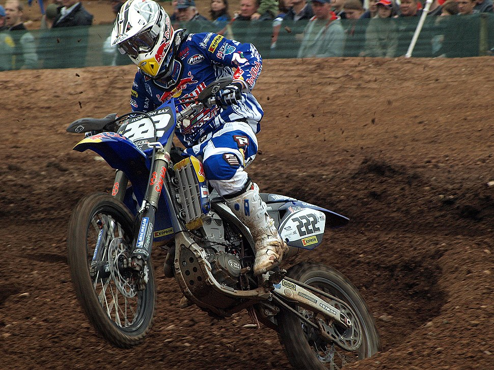 Antonio Cairoli ITA FMI Yamaha FIM MX Mallory Park 2008 R6a